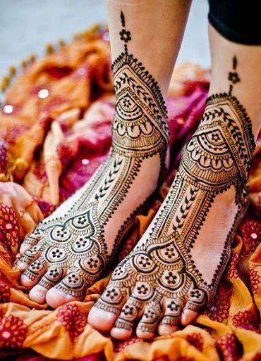 Stylish & Trendy Arabic Mehandi Designs Collection for Hands & Feet 2015-2016 (3)