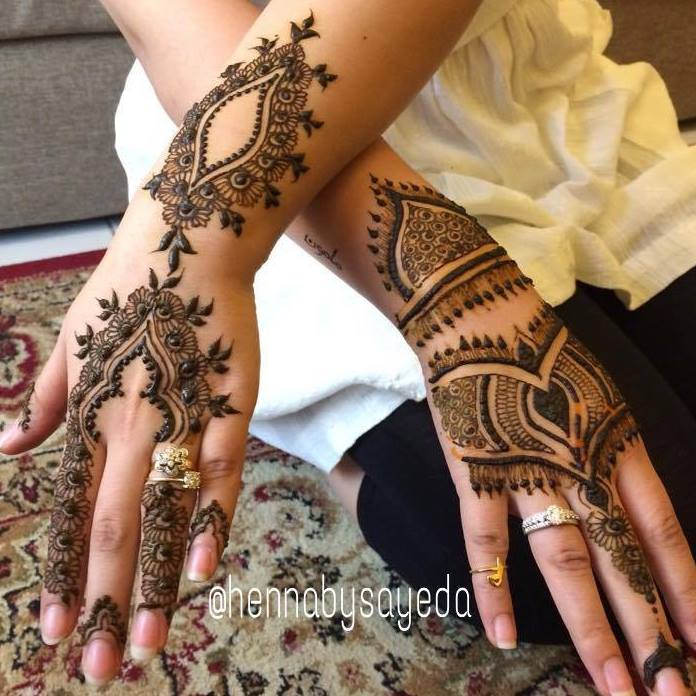 Stylish & Trendy Arabic Mehandi Designs Collection for Hands & Feet 2015-2016 (8)