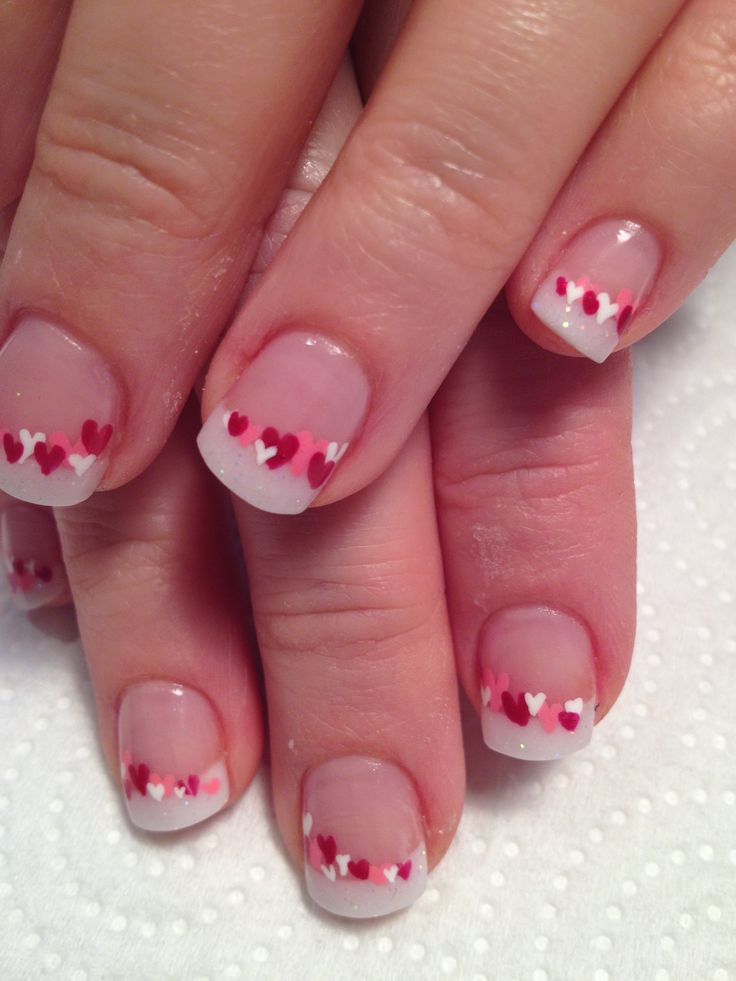 Sweet Candy Heart - romantic nail art designsBest & Beautiful Nail Art Designs & Ideas to Spice up your Valentines Day (2)