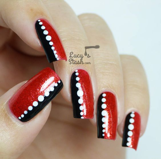 Valentine Nail Art Tutorial & Designs (4)