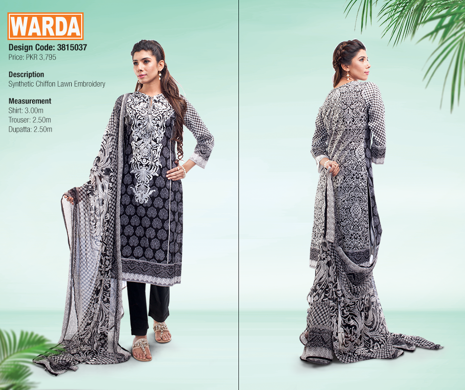 Warda Best Spring Summer Dresses Collection for Women 2020