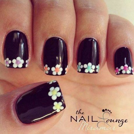 romantic nail art designsBest & Beautiful Nail Art Designs & Ideas to Spice up your Valentines Day Floral Nail Arts (9) - Copy