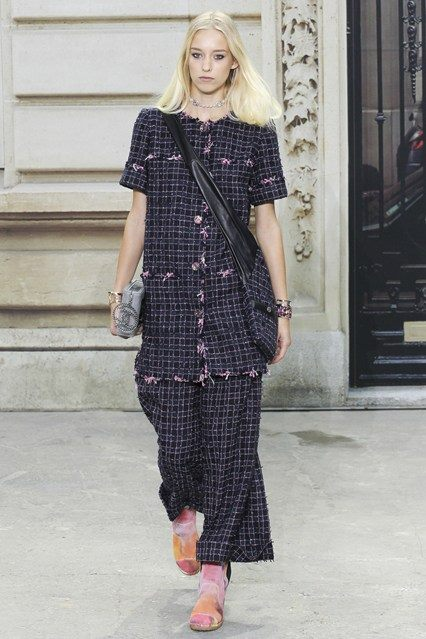 CHANEL Spring Summer Collection Haute Couture Fashion Show Ready To Wear Dresses 2015 (13)