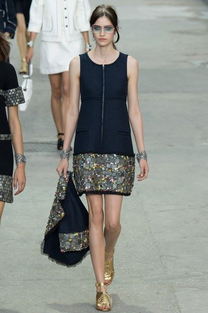 CHANEL Spring Summer Collection Haute Couture Fashion Show Ready To Wear Dresses 2015 (20)