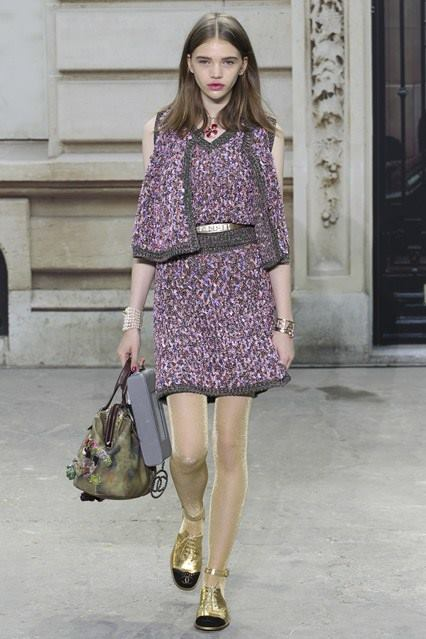 CHANEL Spring Summer Collection Haute Couture Fashion Show Ready To Wear Dresses 2015 (21)
