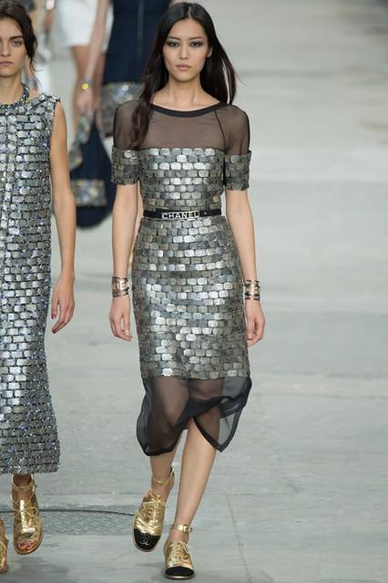 CHANEL Spring Summer Collection Haute Couture Fashion Show Ready To Wear Dresses 2015 (33)