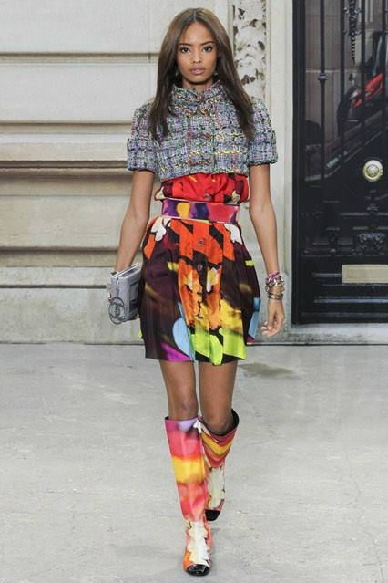 CHANEL Spring Summer Collection Haute Couture Fashion Show Ready To Wear Dresses 2015 (4)