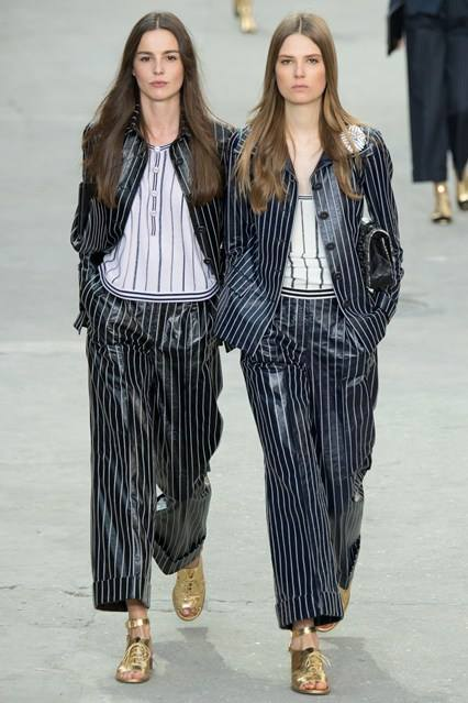 CHANEL Spring Summer Collection Haute Couture Fashion Show Ready To Wear Dresses 2015 (5)