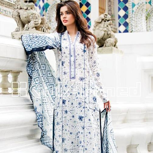 Gul Ahmed Latest Spring-Summer Dresses Collections 2015-2016 for Women by Pakistani brands (10)