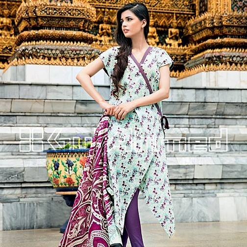 Gul Ahmed Latest Spring-Summer Dresses Collections 2015-2016 for Women by Pakistani brands (12)