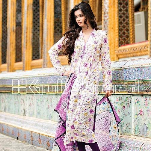 Gul Ahmed Latest Spring-Summer Dresses Collections 2015-2016 for Women by Pakistani brands (13)