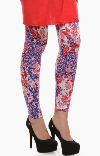 Latest Collection of Printed Embroidered Ladies Tights, Capri Pants & Leggings Designs 2015-2016 (23)