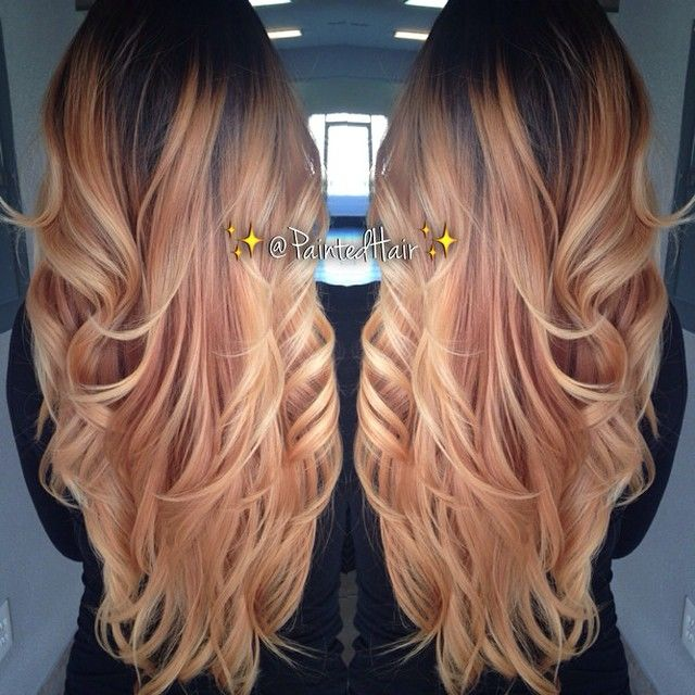Latest Trends of Ombre Hairstyling, Coloring & Haircuts for Women 2015-2016 (19)