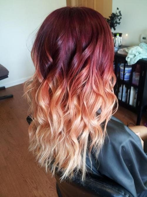 Latest Trends of Ombre Hairstyling, Coloring & Haircuts for Women 2015-2016 (26)