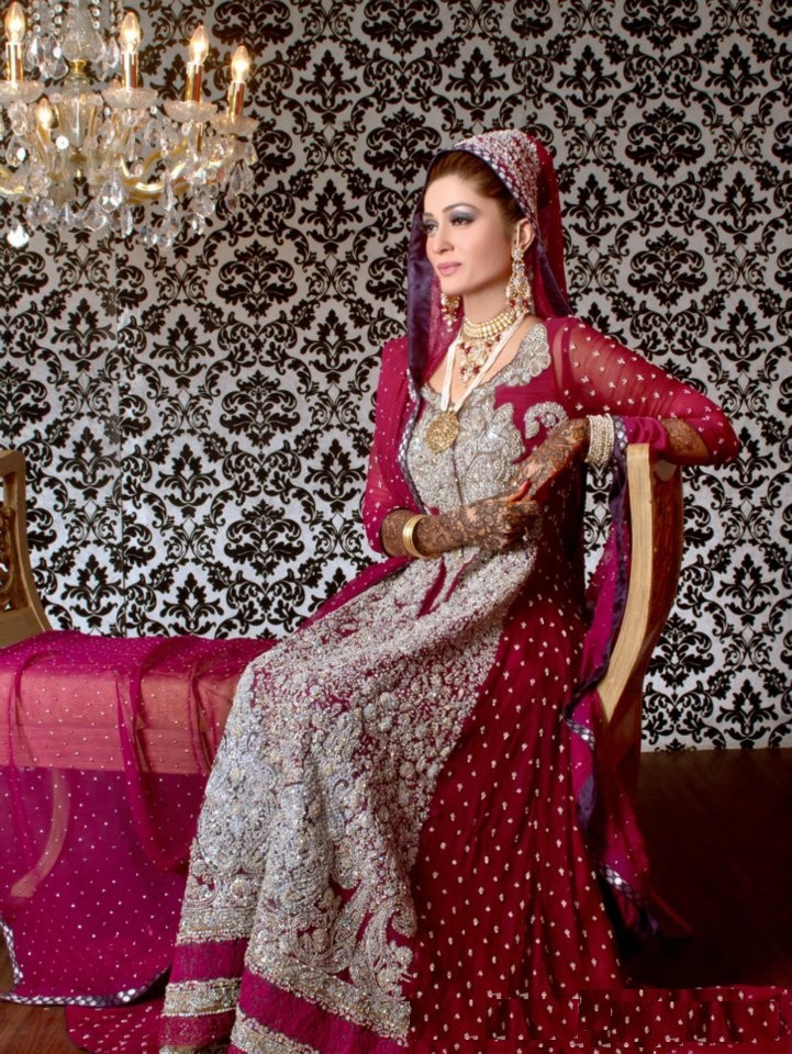 New Asian Barat Day Dresses Designs for Wedding Bridals Latest Collection 2015-2016 (1)