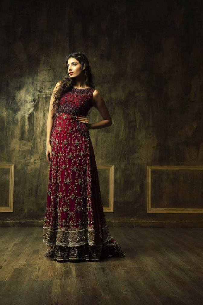 New Asian Barat Day Dresses Designs for Wedding Bridals Latest Collection 2015-2016 (10)