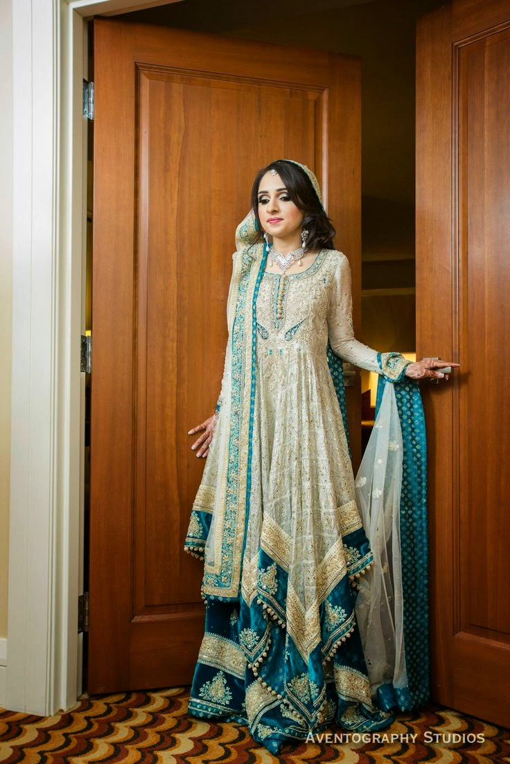 59869c84c Latest Barat Dresses Designs   Ideas Collection for Wedding Brides ...