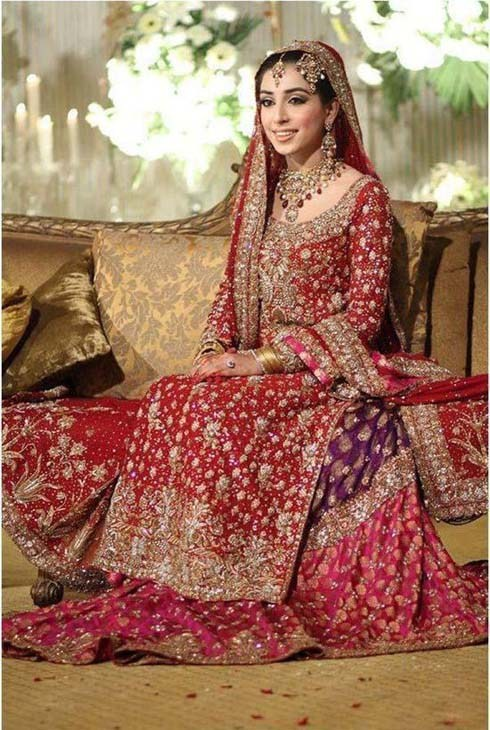 New Asian Barat Day Dresses Designs for Wedding Bridals Latest Collection 2015-2016 (14)
