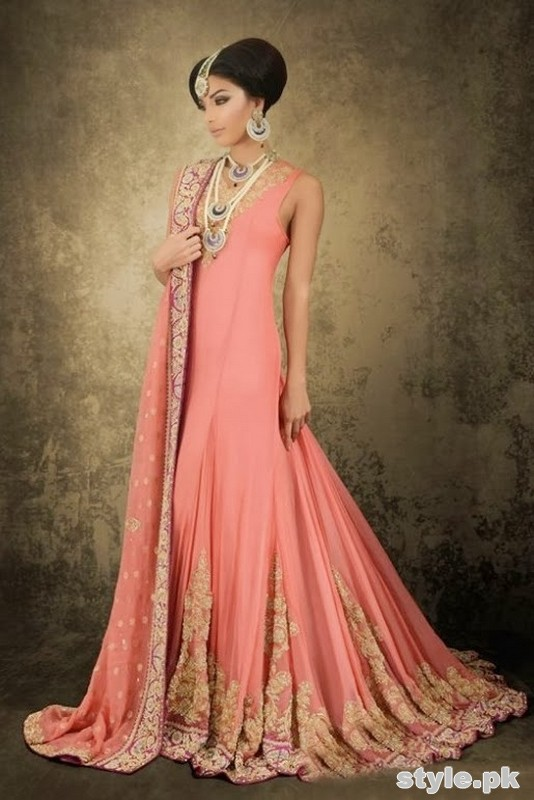 New Asian Barat Day Dresses Designs for Wedding Bridals Latest Collection 2015-2016 (17)
