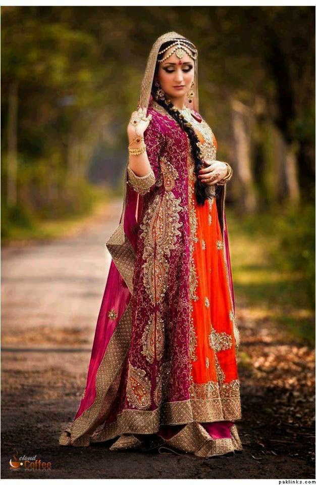 New Asian Barat Day Dresses Designs for Wedding Bridals Latest Collection 2015-2016 (18)