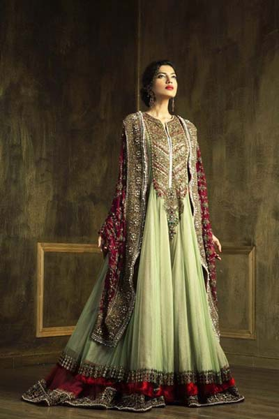 New Asian Barat Day Dresses Designs for Wedding Bridals Latest Collection 2015-2016 (19)