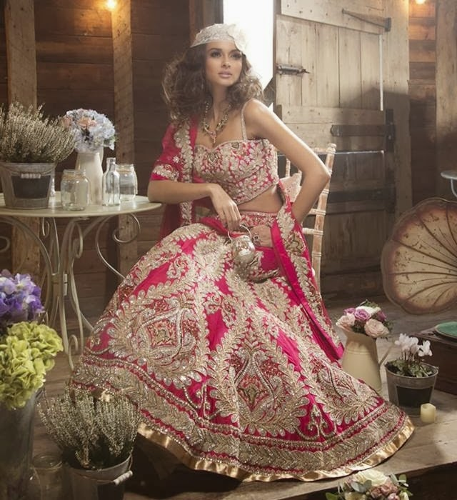 New Asian Barat Day Dresses Designs for Wedding Bridals Latest Collection 2015-2016 (21)