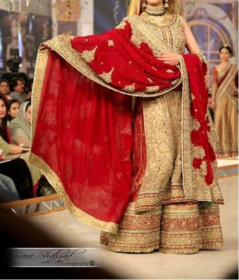 New Asian Barat Day Dresses Designs for Wedding Bridals Latest Collection 2015-2016 (25)