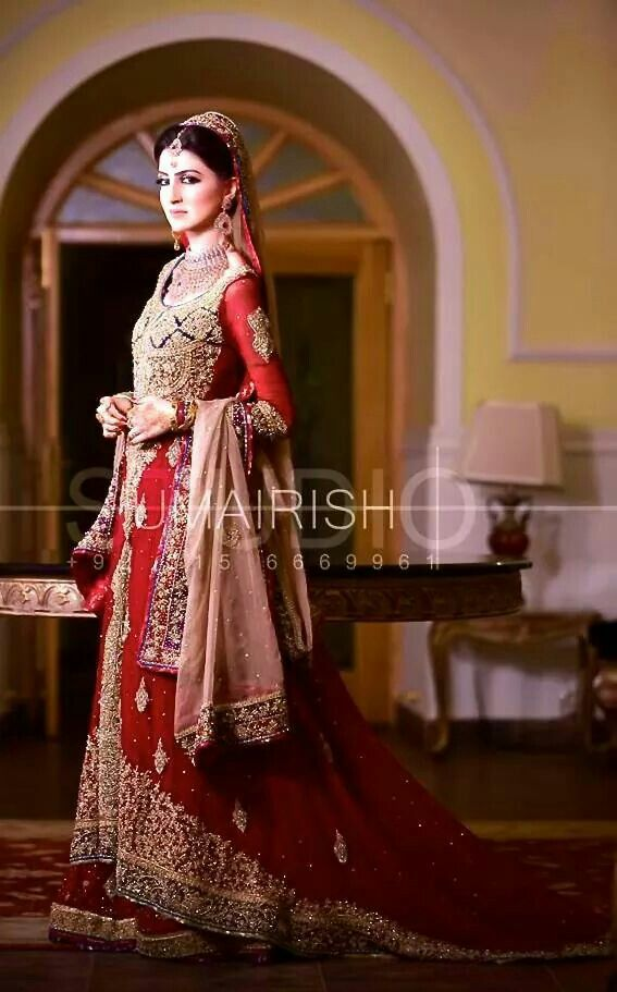 Latest Barat Dresses Designs & Ideas Collection for Wedding Brides 2019