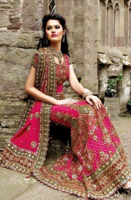 New Asian Barat Day Dresses Designs for Wedding Bridals Latest Collection 2015-2016 (32)