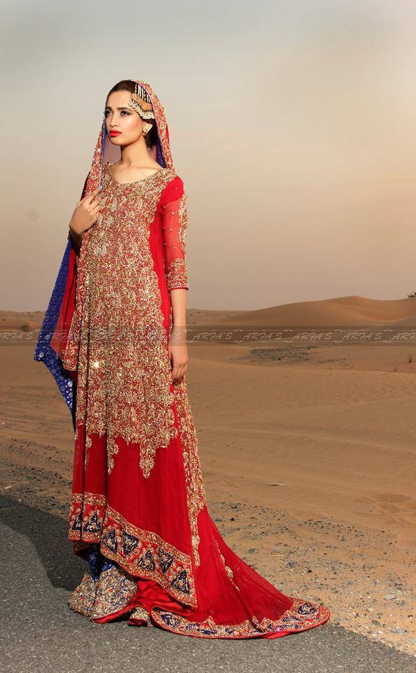 New Asian Barat Day Dresses Designs for Wedding Bridals Latest Collection 2015-2016 (8)