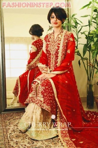 New Asian Barat Day Dresses Designs for Wedding Bridals Latest Collection 2015-2016 (9)