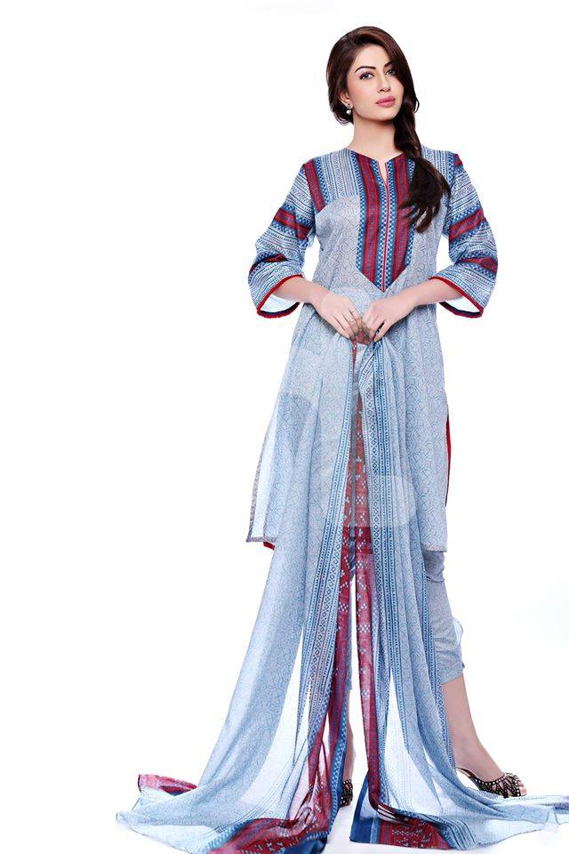 Nishat Linen Latest Spring Summer Dresses Collection for Women 2015 (17)