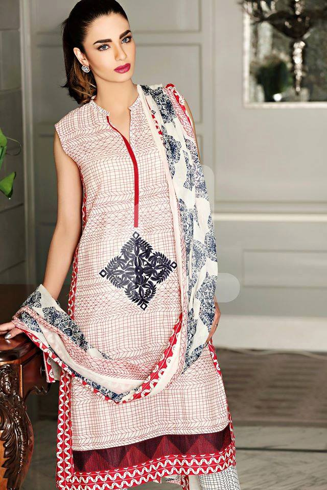 0ff91a868 Latest Spring Summer Dresses Collections 2019 by Pakistani Brands ...