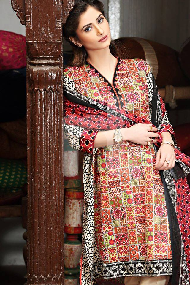 Nishat Linen Latest Spring-Summer Dresses Collections 2015-2016 for Women by Pakistani brands (2)
