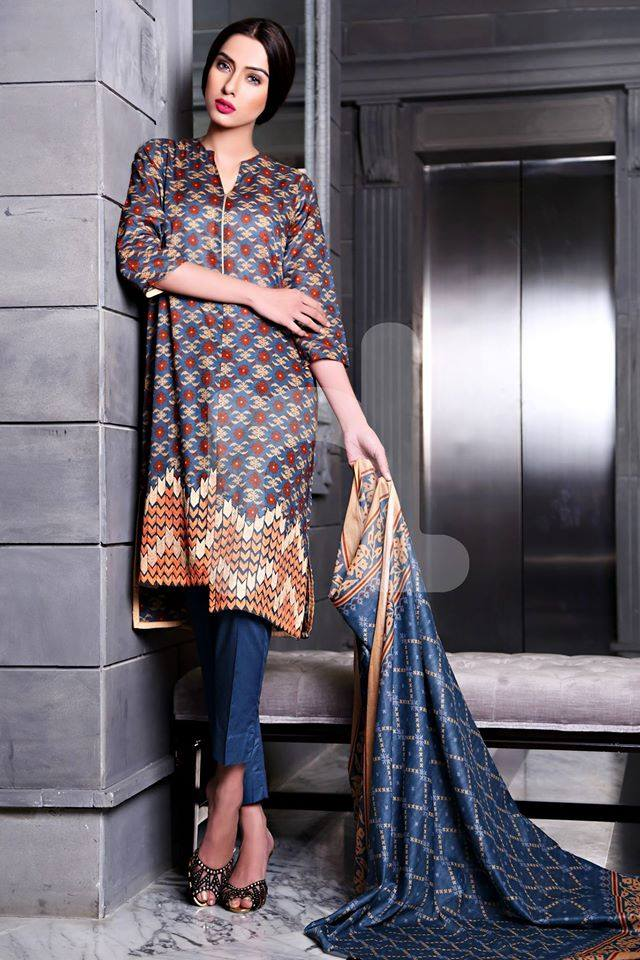 19317b4884c ... Nishat Linen Latest Spring-Summer Dresses Collections 2015-2016 for  Women by Pakistani brands ...
