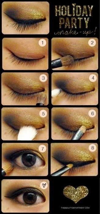 Step Step Party Wear Makeup Tutorial, Tips & Ideas for Pakistani Asian Girls (28)