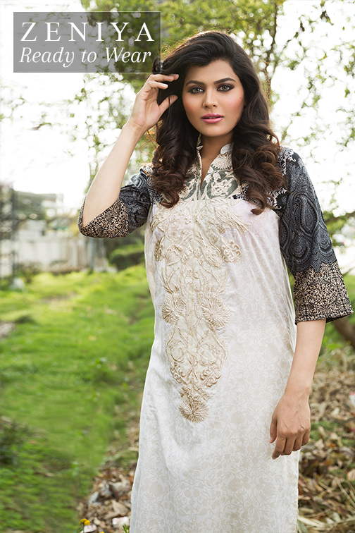 Zeniya Lawn By Deepak Perwani Latest Spring Summer Collection Ready To Wear Dresses 2015 (11)
