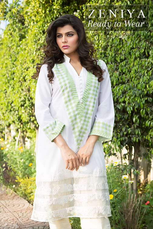 Zeniya Lawn By Deepak Perwani Latest Spring Summer Collection Ready To Wear Dresses 2015 (5)