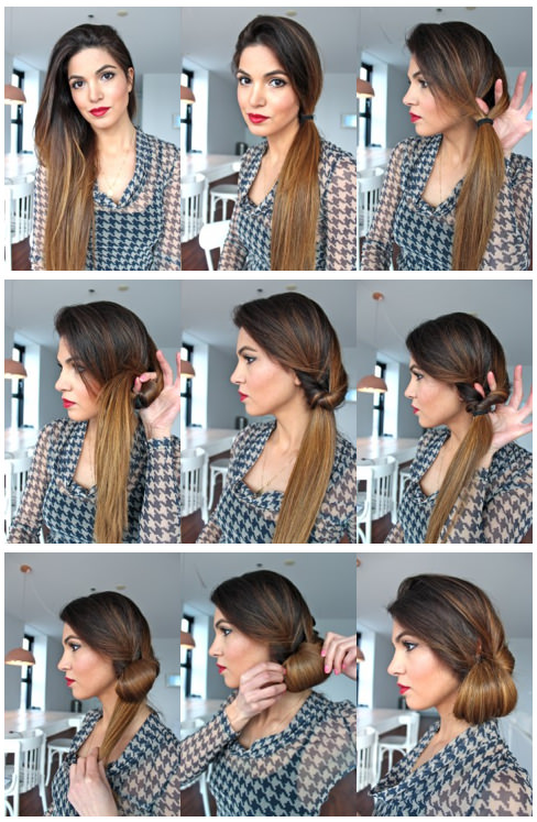 Top 10 Popular Bun Hairstyles 2019 Trends Tutorial Step By Step