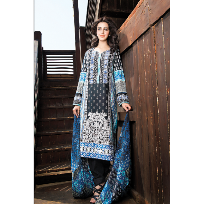 Amna Ismail Embroidered Lawn Summer Fancy Dresses Collection 2015-2016 (1)