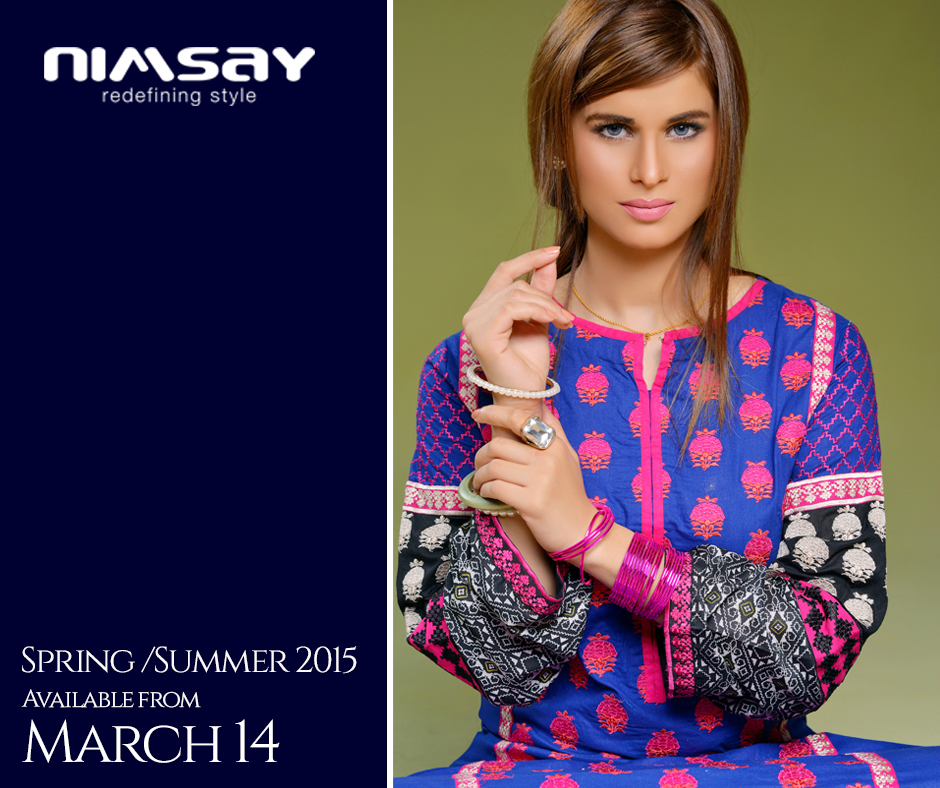 Colorful Printed & Embroidered Dresses by Nimsay Summer Collection 2015-2016 (1)