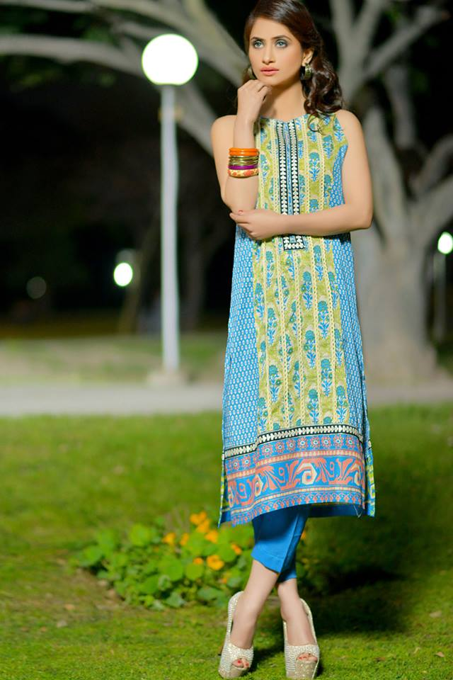 Colorful Printed & Embroidered Dresses by Nimsay Summer Collection 2015-2016 (11)
