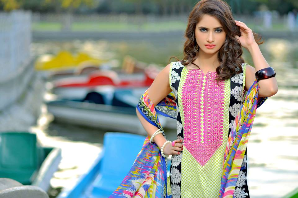 Colorful Printed & Embroidered Dresses by Nimsay Summer Collection 2015-2016 (12)
