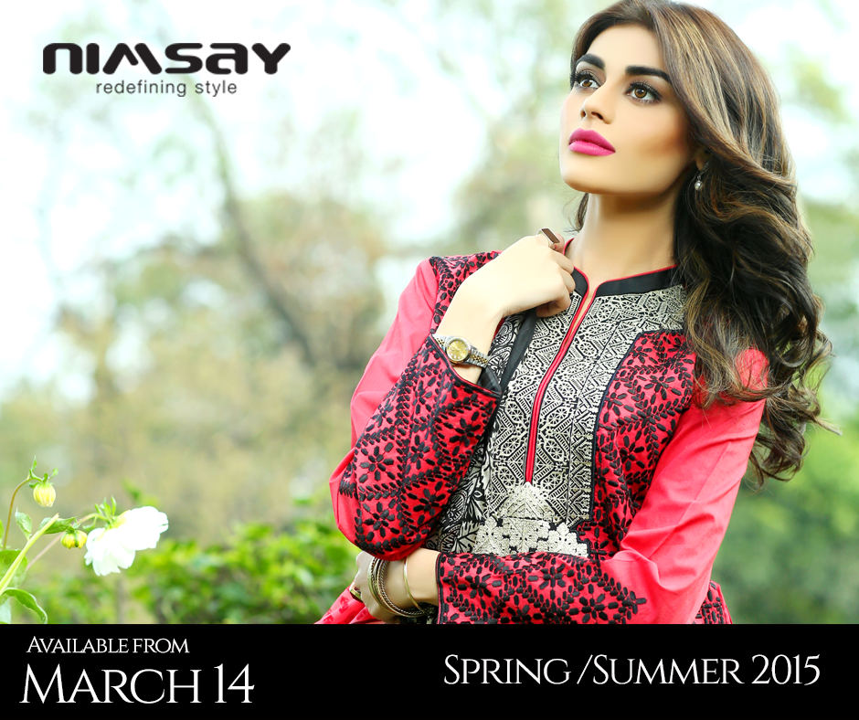 Colorful Printed & Embroidered Dresses by Nimsay Summer Collection 2015-2016 (2)