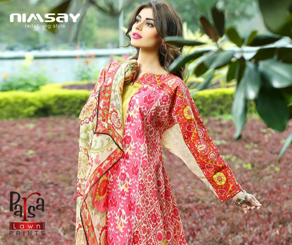 Colorful Printed & Embroidered Dresses by Nimsay Summer Collection 2015-2016 (8)