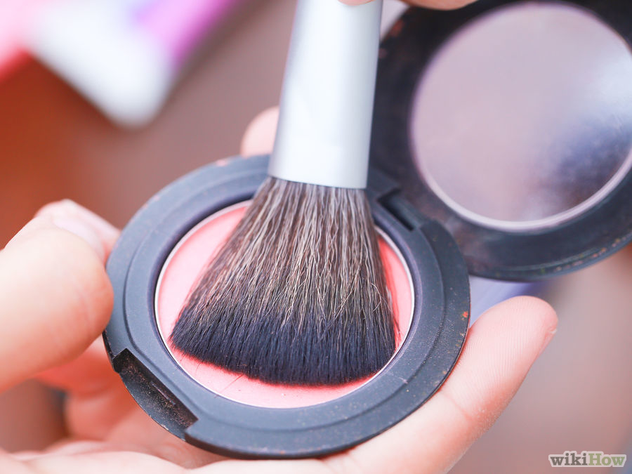 How to apply blush step by step tutorial (10)