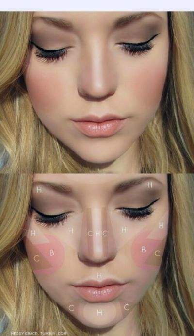 How to apply blush step by step tutorial (8)