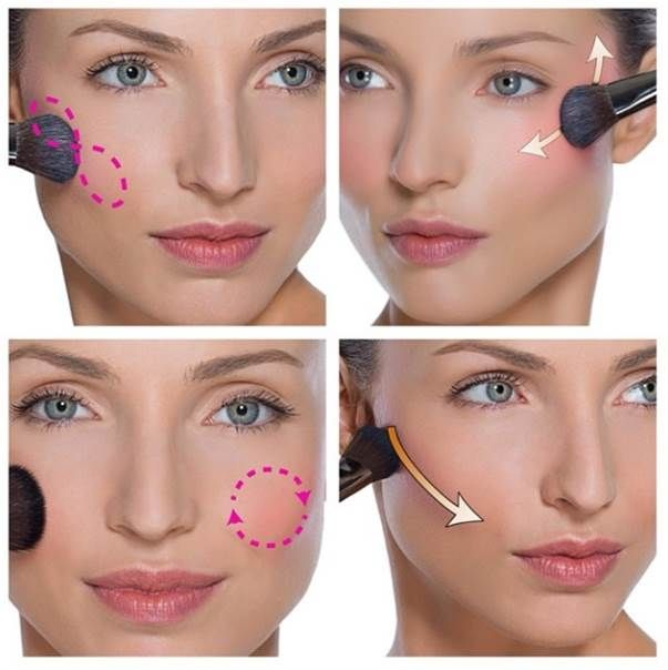 How to apply blush step by step tutorial (9)