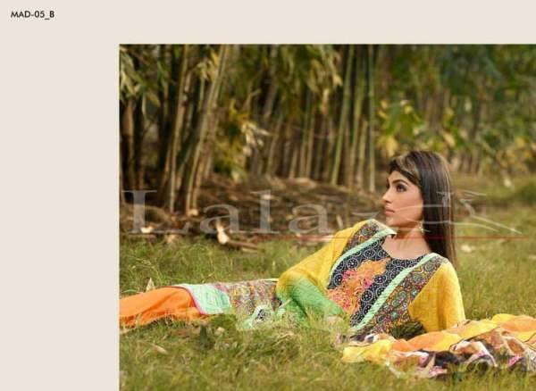 Lala Textiles Embroidered lawn Dresses Kurtis Summer Spring collection 2015-2016 (30)