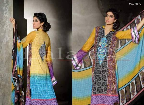 Lala Textiles Embroidered lawn Dresses Kurtis Summer Spring collection 2015-2016 (32)